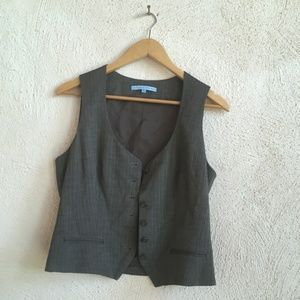 ANTONI MELANI GREY TROUSERS AND VEST 8